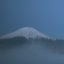Mt. Fuji and the lake Yamanaka
