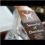 Handmade dark chocolate : meets : hot milk to indulge @ The NH KRASNAPOLSKY HOTEL : AMSTERDAM, The Netherlands : ENJOY! :)