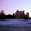 Wollaton Hall in Winter