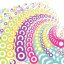 Colorful Whirlpool Vector Background