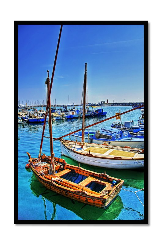 fishing port in Cambrils