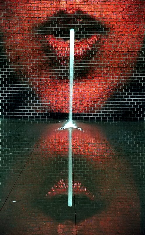 Chicago - Crown Fountain Lips