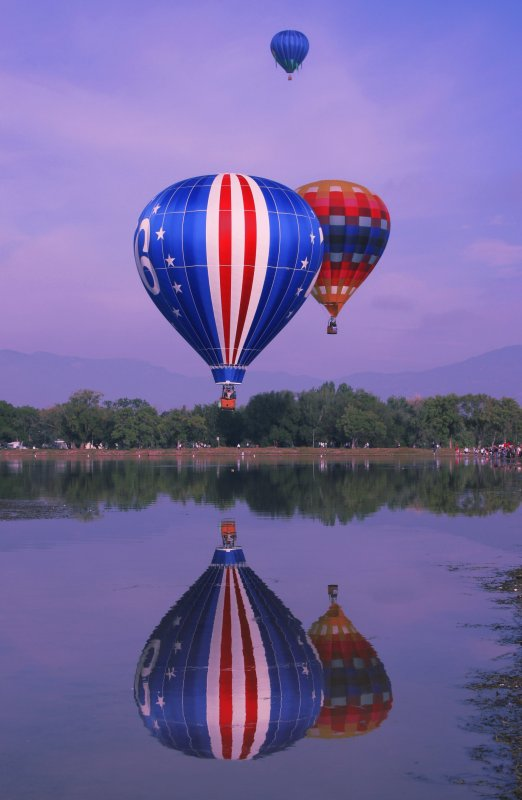 Colorado Ballon Classic 2009, Labor Day Weekend, Prospect Lake in Memorial Park in Colorado Springs, CO
