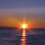 Sun is a Star, Proof :), Sunset in San Juan Islands (Star Effect Sun Photo)