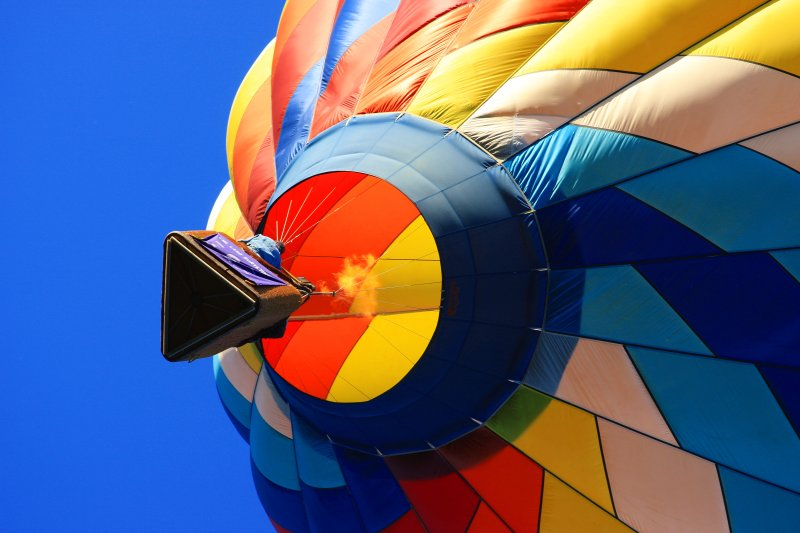 Hot Air Balloon, Fire in the Hole