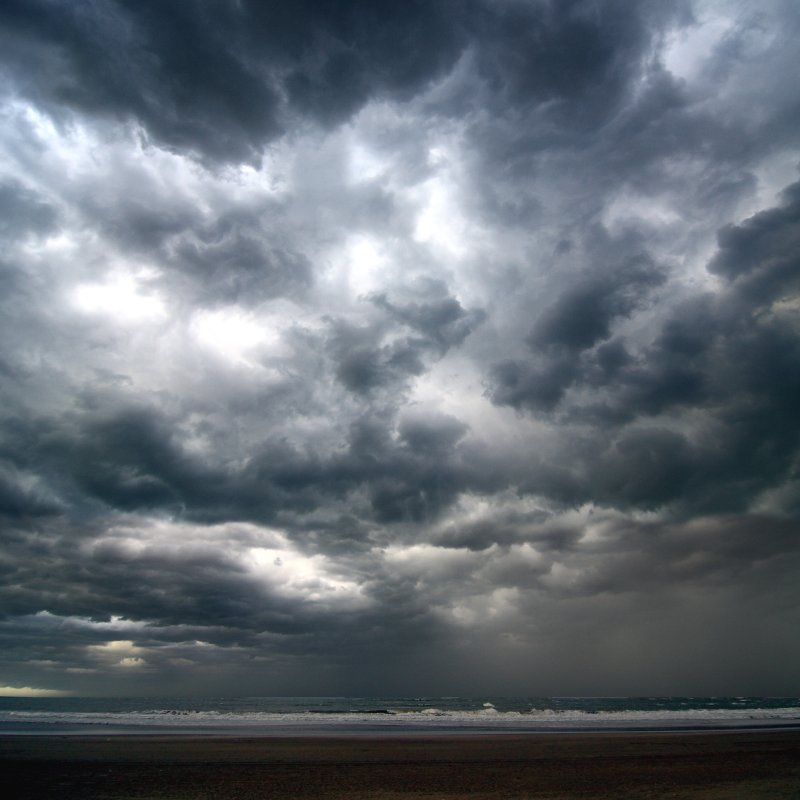 Stormy at the Sea