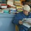 The relaxed bookseller