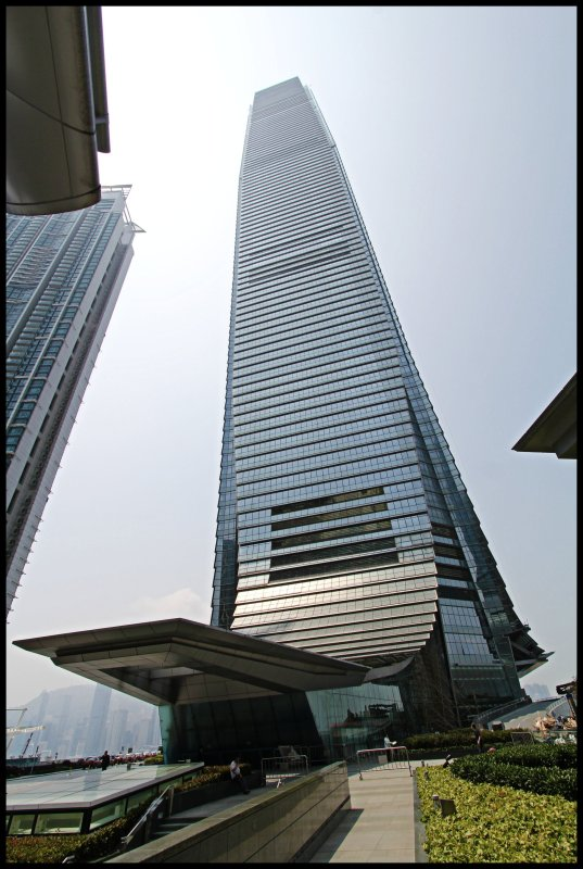 The International Commerce Center // 環球貿易廣場 // 118 FLOORS // 484 METERS TALL // With the Ritz-Carlton Hotel Hong Kong : The Highest Hotel on TOP // @ West Kowloon // Hong Kong