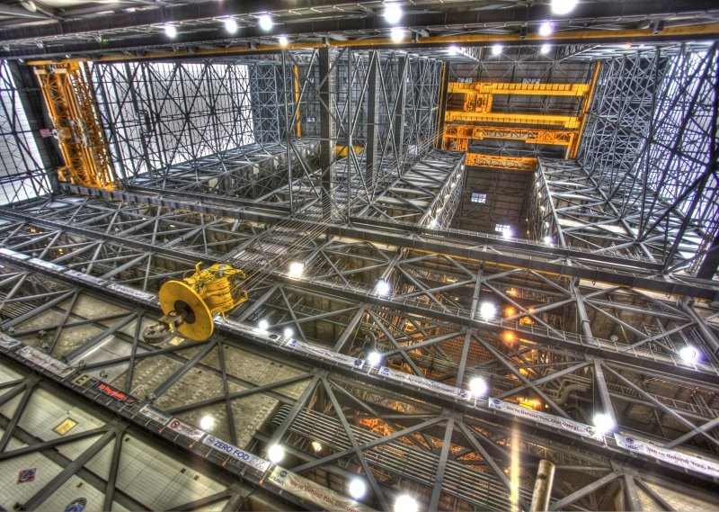 Welcome to the Vehicle Assembly Building (VAB)
