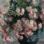 Monet Chrysanthemums (detail)