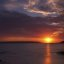 Sunset over La Perouse