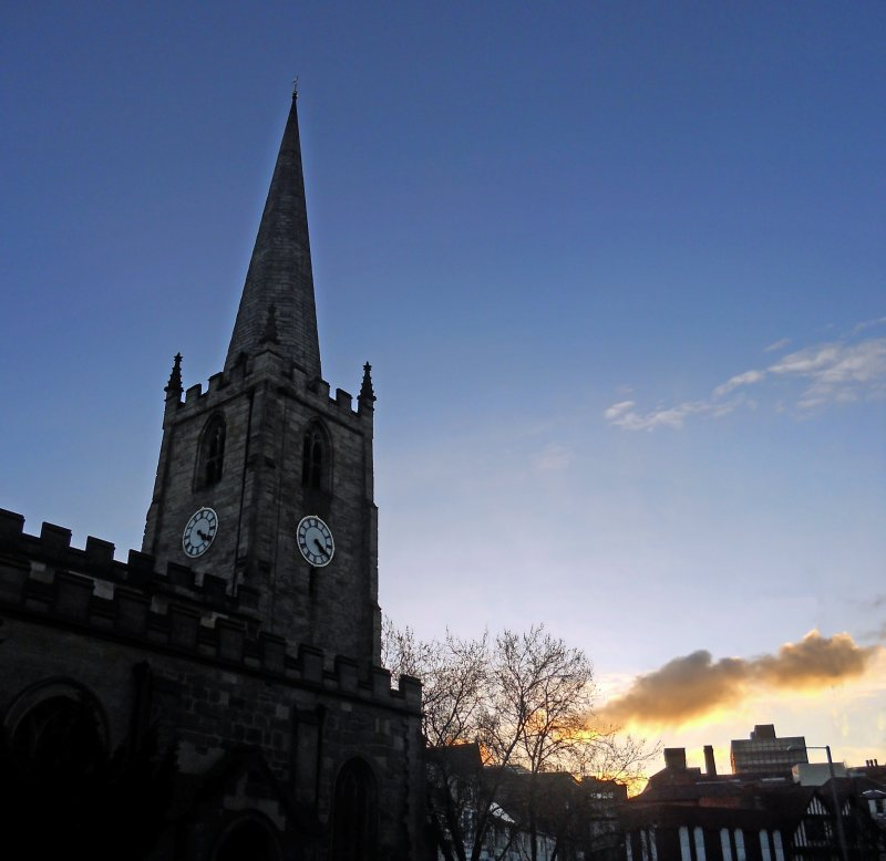 St Peter's at sunset