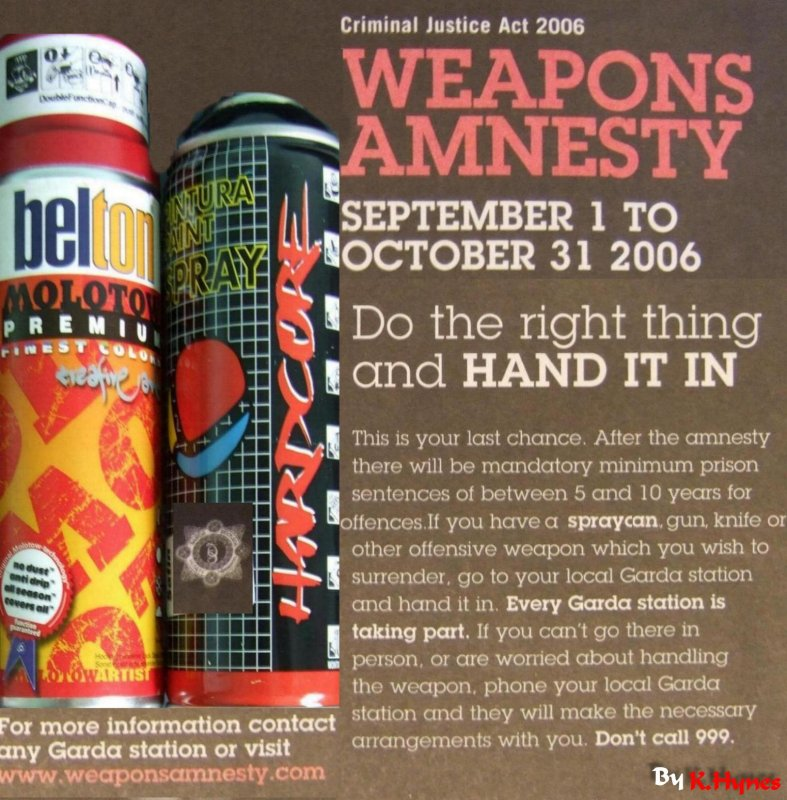 Weapons Amnesty !