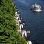 """Chicago - River Walkway & Lanterns """" A Linear Cruise"""""""