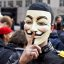 Occupy Wall Street Drumming - The Mask