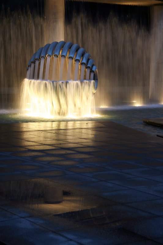 The Light of Fountain