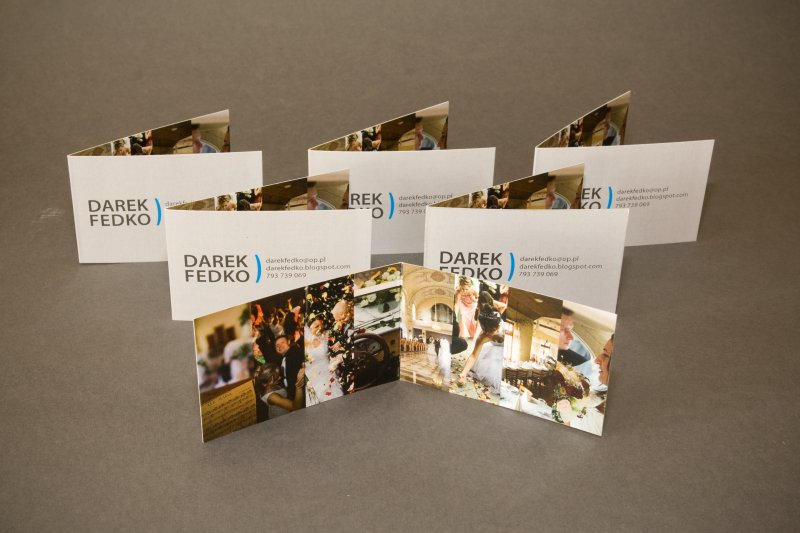 Darek Fedko Business Card