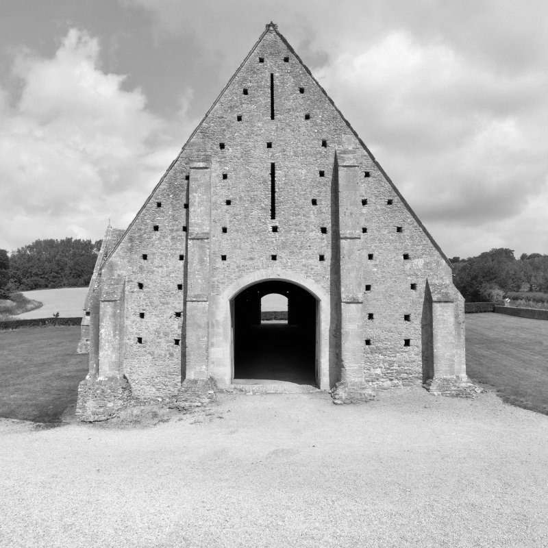 great coxwell barn, oxfordshire, england, 14th century