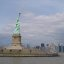 Statue of Liberty and Lower Manhattan skyline