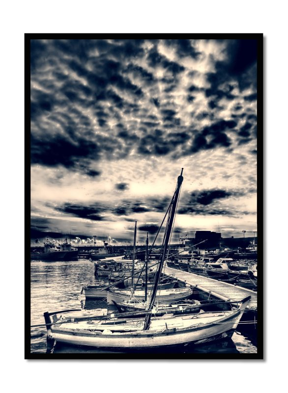 Cambrils fishing port