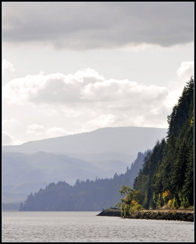 Along the Columbia River