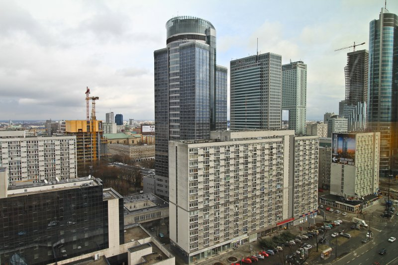 // OBSERVE // HOSPITALITY // The Westin Hotel : Warsaw : Poland : A Landmark In the Capital City // View from our 16th floor room //