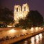 paris by night - notre dame