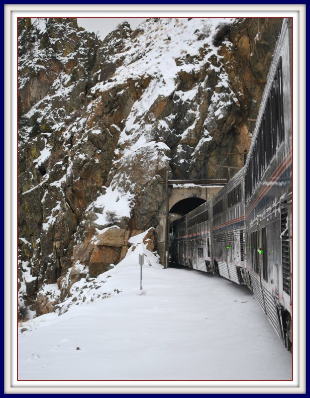 Gore Canyon Views From California Zephyr