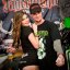 Tattoo Expo : Jägermeister poses with cute girl