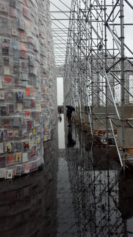 Documenta 2017 im Regen