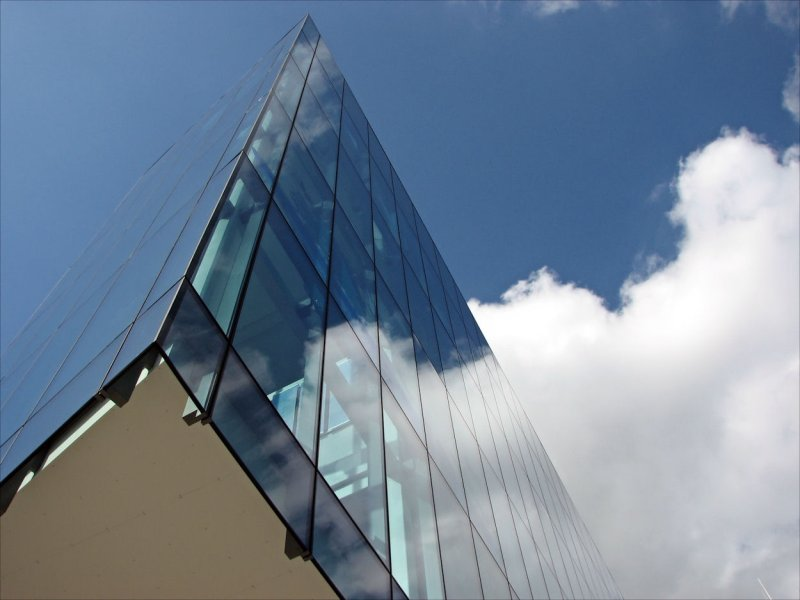 The New City Library Facade 1. Newcastle on Tyne