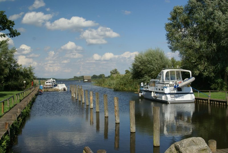 Hafen in Meck/Pom