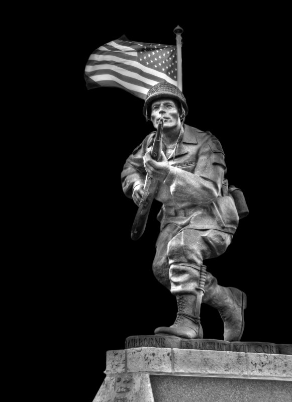 Statue- Band of Brothers